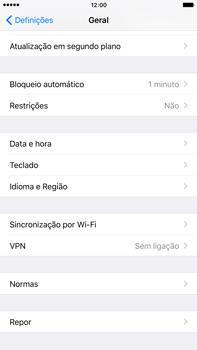 Apple iPhone 6s Plus - Repor definições - Repor definições de fábrica do telemóvel -  5