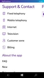 Microsoft Lumia 950 - Applications - MyProximus - Step 23