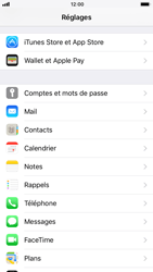 Apple iPhone 7 iOS 11 - E-mail - Configuration manuelle - Étape 4
