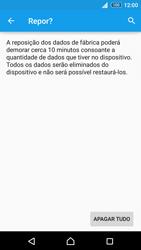 Sony Xperia Z3 Plus - Repor definições - Como repor definições de fábrica do telemóvel -  8