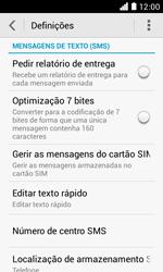NOS LUNO - SMS - Como configurar o centro de mensagens -  5
