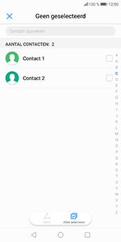 Huawei P Smart (Model FIG-LX1) - Contacten en data - Contacten overzetten via Bluetooth - Stap 6