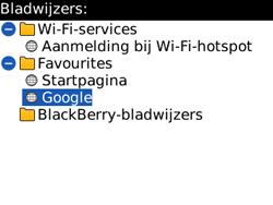BlackBerry 8520 Curve - Internet - Hoe te internetten - Stap 9