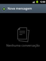 Samsung Galaxy Y - Mensagens - Como criar e enviar mensagens multimídia (MMS) - Etapa 3