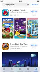 Apple iPhone 6 - iOS 12 - Aplicações - Como pesquisar e instalar aplicações -  12
