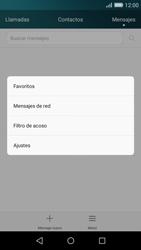 Huawei P8 Lite - Mensajería - Configurar el equipo para mensajes de texto - Paso 4