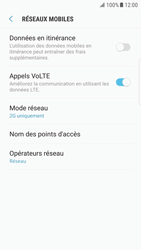 Samsung G925F Galaxy S6 Edge - Android Nougat - Réseau - Changer mode réseau - Étape 8