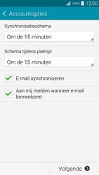 Samsung G901F Galaxy S5 Plus - E-mail - handmatig instellen - Stap 17