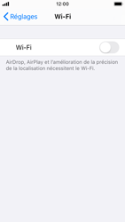 Apple iPhone SE - iOS 13 - Wifi - configuration manuelle - Étape 3