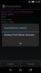 HTC Desire 320 - MMS - Automatic configuration - Step 7