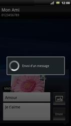 Sony Ericsson Xperia Arc - MMS - envoi d'images - Étape 13