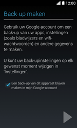 Huawei Ascend Y330 - Applicaties - Account aanmaken - Stap 23