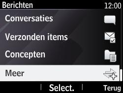 Nokia Asha 210 - SMS - Handmatig instellen - Stap 4