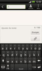 HTC C525u One SV - MMS - envoi d'images - Étape 4