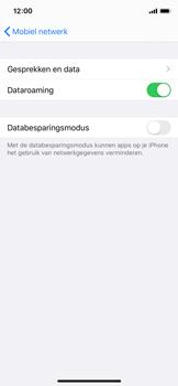 Apple iPhone X - iOS 13 - Buitenland - Internet in het buitenland - Stap 7