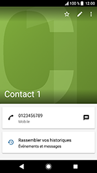 Sony Xperia XA2 - Contact, Appels, SMS/MMS - Ajouter un contact - Étape 8