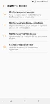 Samsung galaxy-a7-dual-sim-sm-a750fn - Contacten en data - Contacten kopiëren van toestel naar SIM - Stap 7