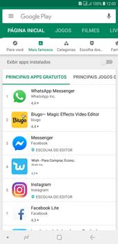 Samsung J4+ - Aplicativos - Como baixar aplicativos - Etapa 5
