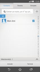 Sony Xperia Z2 - Contact, Appels, SMS/MMS - Envoyer un MMS - Étape 9