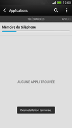 HTC One - Applications - Supprimer une application - Étape 8