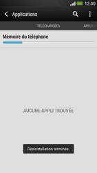 HTC One - Applications - Supprimer une application - Étape 8