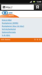 Sony MT27i Xperia Sola - Internet - Internetten - Stap 11
