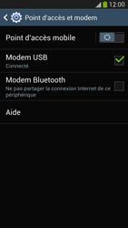 Samsung Galaxy S4 - Internet et connexion - Utiliser le mode modem par USB - Étape 8