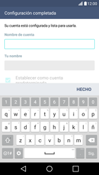 LG K10 4G - E-mail - Configurar correo electrónico - Paso 18