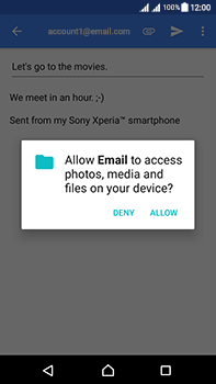 Sony Xperia L1 - Email - Sending an email message - Step 11