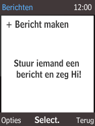 Nokia 216 - SMS - Handmatig instellen - Stap 4