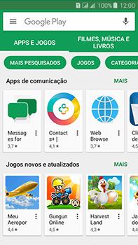 Samsung Galaxy J7 - Aplicativos - Como baixar aplicativos - Etapa 6