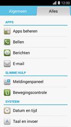 Huawei Ascend Y550 - Voicemail - Handmatig instellen - Stap 3