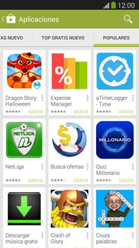 Samsung Galaxy Note 3 - Aplicaciones - Descargar aplicaciones - Paso 14
