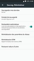 Alcatel Shine Lite - Device maintenance - Back up - Étape 10