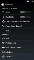 Acer Liquid E3 - Internet - Activer ou désactiver - Étape 4