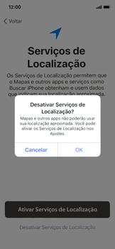 Apple iPhone X - iOS 12 - Primeiros passos - Como ativar seu aparelho - Etapa 22