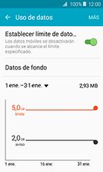 Samsung Galaxy J1 (2016) (J120) - Internet - Ver uso de datos - Paso 8