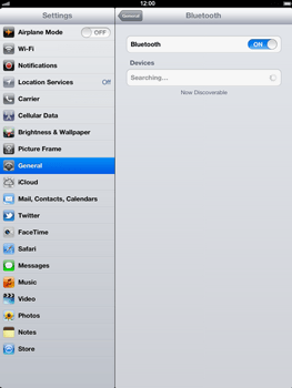 Apple The New iPad - Bluetooth - Pair with another device - Step 6