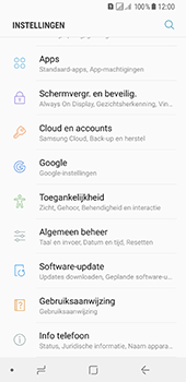 Samsung Galaxy A8 (2018) - Software update - update installeren zonder PC - Stap 4