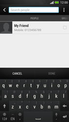 HTC One - MMS - Sending a picture message - Step 4