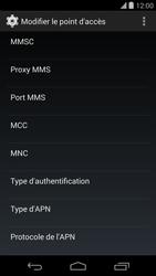 LG D821 Google Nexus 5 - MMS - configuration manuelle - Étape 12