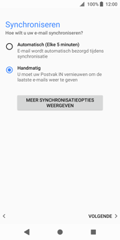 Sony xperia-xz2-h8216 - E-mail - Account instellen (POP3 zonder SMTP-verificatie) - Stap 19