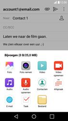 LG X Screen - E-mail - hoe te versturen - Stap 11
