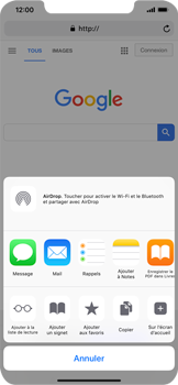 Apple iPhone XS Max - Internet - navigation sur Internet - Étape 16