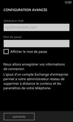 Nokia Lumia 1020 - E-mails - Ajouter ou modifier un compte e-mail - Étape 8
