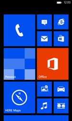 Nokia Lumia 520 - Internet - Como configurar seu celular para navegar através de Vivo Internet - Etapa 1