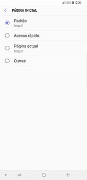Samsung Galaxy S9 Plus - Internet no telemóvel - Como configurar ligação à internet -  25