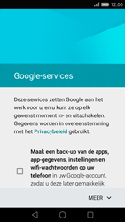 Huawei P8 - Applicaties - Account aanmaken - Stap 13