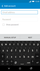 HTC One M8 - E-mail - Manual configuration - Step 6