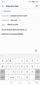 Huawei P20 Lite - E-mail - envoyer un e-mail - Étape 9